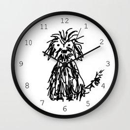 Doggy day Wall Clock