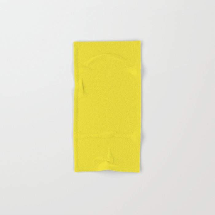 Dandelion Solid Color Hand Bath Towel By Makeitcolorful Society6