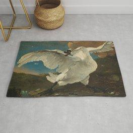 The threatened swan - Jan Asselijn (1650) Rug