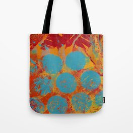 Turquoise Beads Tote Bag
