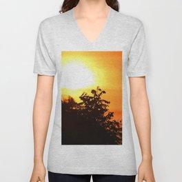 Stunning Sunrise Unisex V-Neck