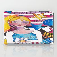 patriotic iPad Cases featuring Patriotic Girl by Judy Skowron