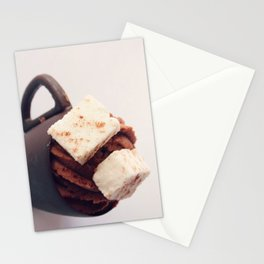 Hot Chocolate Mousse Stationery Cards