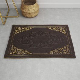 BOOK COVER Rug