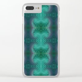 Varietile 37 (Repeating 1) Clear iPhone Case