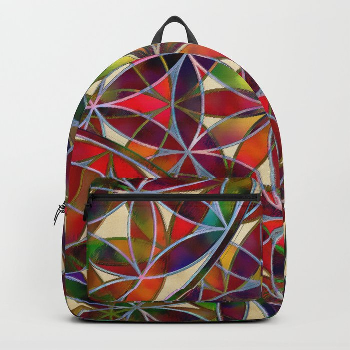 Flower of Life variation Backpack