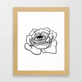 All Is Seen Framed Art Print
