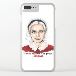 Sabrina Clear iPhone Case