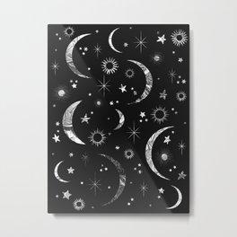 Sun & Moon Metal Print