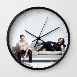Demi and Nick #1 Wall Clock