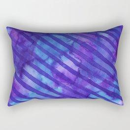 Watercolour stripes Rectangular Pillow