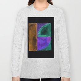180818 Inverted Geometrical Watercolour 1 Long Sleeve T-shirt