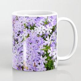 Purple Flowers | Lavender Flox | Pantone Purple | Spring Floral Coffee Mug