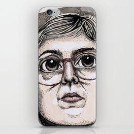 Log Lady iPhone Skin