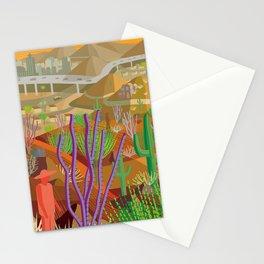 Desert City Phoenix Stationery Cards