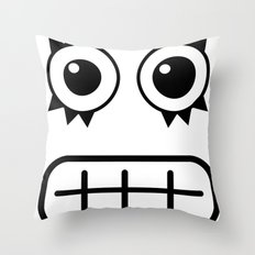 :::dientes::: Throw Pillow