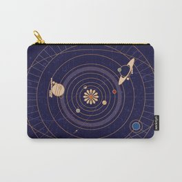 Art Deco Star Chart Carry-All Pouch