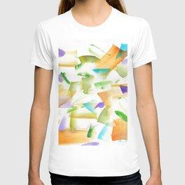 180719 Koh-I-Noor Watercolour Abstract 19art, modern, abstract, nordic, watercolour, watercolor,colo T-shirt