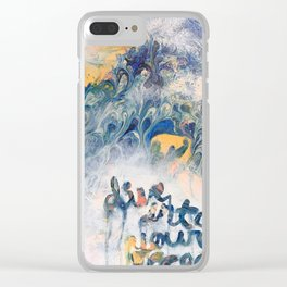 Dive into your ocean Clear iPhone Case