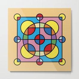 Geometric Fun 009 Metal Print