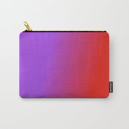 Ombre in Purple Red Carry-All Pouch