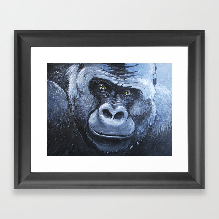 Striving to Live in Peace Framed Art Print