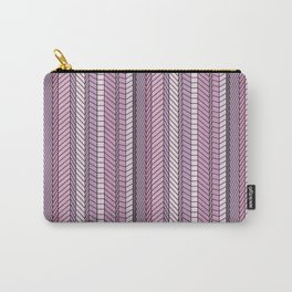 Purple Optical Illustion Carry-All Pouch