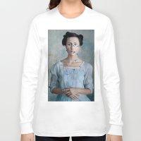 valentina Long Sleeve T-shirts featuring Valentina by Maria Kanevskaya