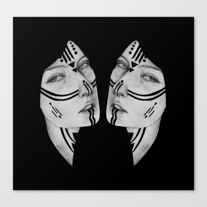 Sisters IV Canvas Print