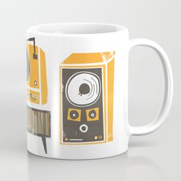 Vinyl Deck And Speakers Coffee Mug
