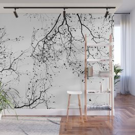 BLACK BRANCHES 2 Wall Mural