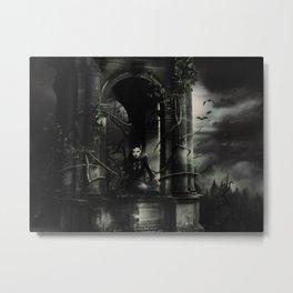 Hallween Queen 3 Metal Print
