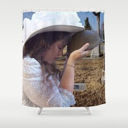 Gilded Memorial Shower Curtain