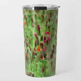 Poppies in the Field Travel Mug