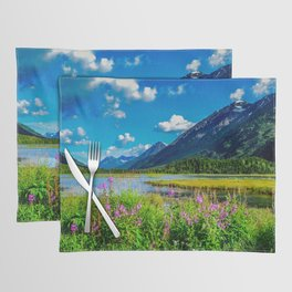 God's Country - Summer in Alaska Placemat