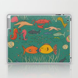 Fishy Kisses Laptop & iPad Skin