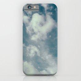 Soft Dreamy Cloudy Sky iPhone Case