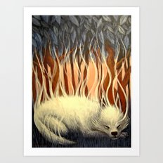Dream Fumes Art Print