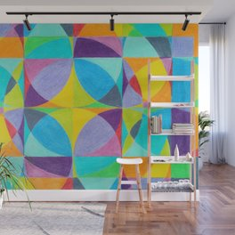 The 'Cross of Light' Effect Wall Mural