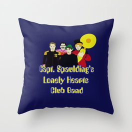 Capt. Spaulding's Lonely Hearts Club Band Throw Pillow