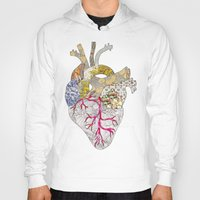 ellie goulding Hoodies featuring my heart is real by Bianca Green