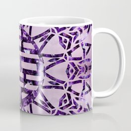 Double Happiness Symbol Amethyst and Marble Coffee Mug