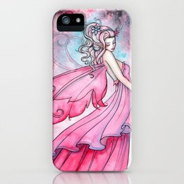 Fairy of Love by Molly Harrison Fantasy Art iPhone Case