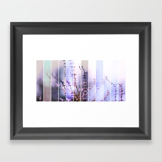 FLOWER - TWELVE Framed Art Print
