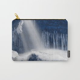 Stream of Blue Frozen Hope Carry-All Pouch