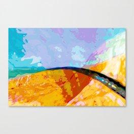 Shoulder Canvas Print