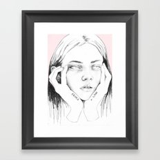 broke+low Framed Art Print