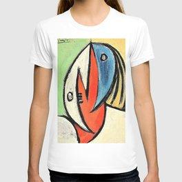 12,000pixel-500dpi - Pablo Picasso - Head - Digital Remastered Edition T-shirt