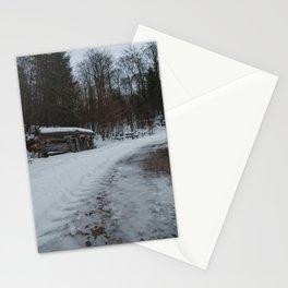 Insektenhotel Kühhude Im Winter Stationery Cards