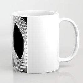 Peace Sign Sketch Coffee Mug